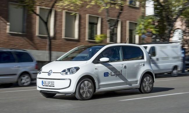 Volkswagen e-up! por Madrid