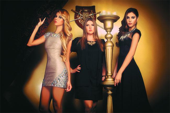 María Ingrid Aguilera, Fernanda Haderspock (diseñadora) y Sherri Jordan harán lo suyo.