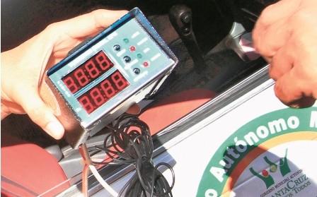 Postergan-uso-de-taximetro-en-Santa-Cruz-hasta-el-proximo-30-de-mayo