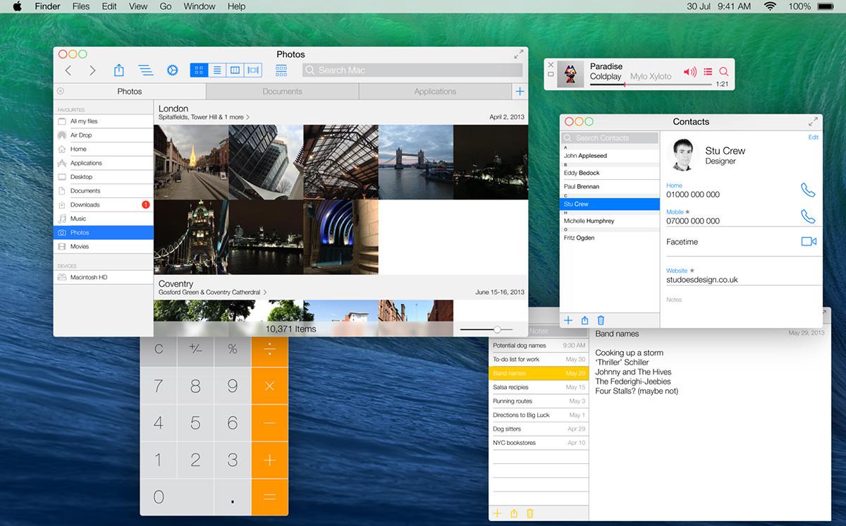 Concepto OS X 10.10