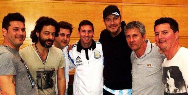 El encuentro de Marcelo Tinelli con Lionel Messi en Brasil