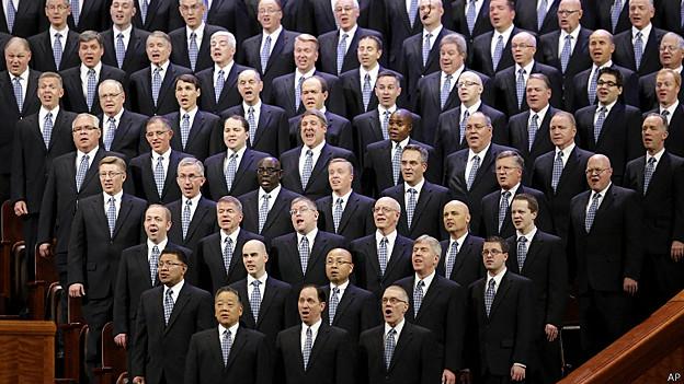 Coro del Tabernáculo Mormón