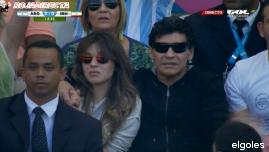 Maradona-iran2