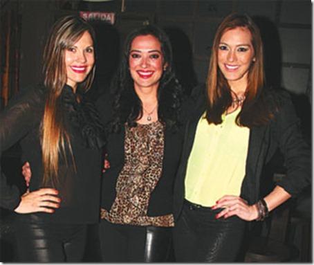 Silvana Roth, Vanessa y Paola Moreno Otero