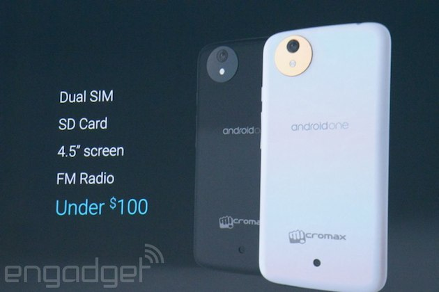 Google anuncia su programa Android One para la fabricación de móviles muy económicos