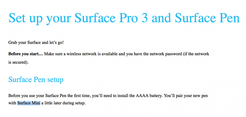surface mini filtracion1 Microsoft demuestra la existencia del Surface Mini con su último desliz