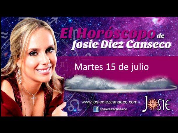 Josie Diez Canseco: Horóscopo del martes 15 de julio (VIDEO)