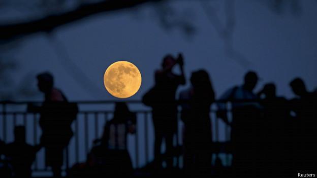 Superluna en Nueva York