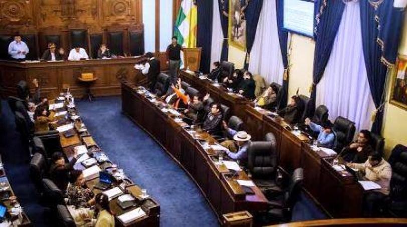 Senado aprueba préstamo de $us 20.5 millones para doble vía Montero - Cristal Mayu