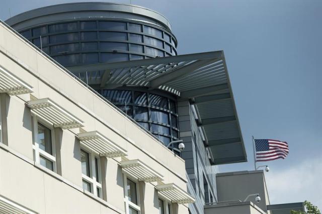 Embajada de EEUU en Alemania. Foto EFE
