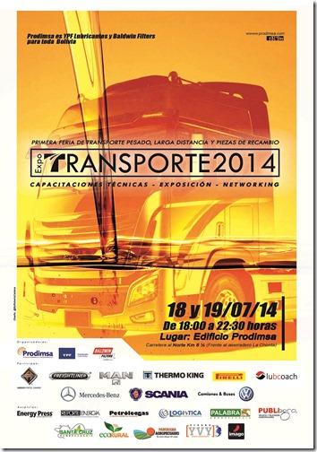 Afiche Expo Transporte