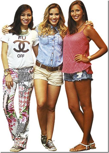 Andrea Domínguez y Gina Jáuregui conocen a Roxana Del Río desde los tres años