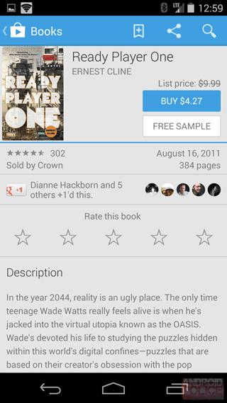 Nuevo diseño de Google Play con Material Desing