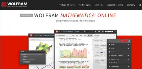 Wolfram Mathematica 10 Mathematica Online