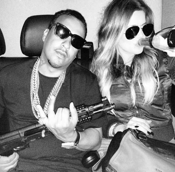 Khloe Kardashian ha sido criticada por su relación con French Montana