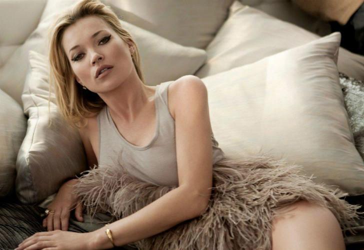Kate Moss. La sobreviviente de la era de las supermodelos aún está vigente y acumuló US$ 7 millones en tan sólo un año.