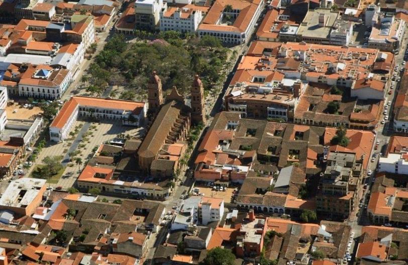 Panorámica del centro de la ciudad