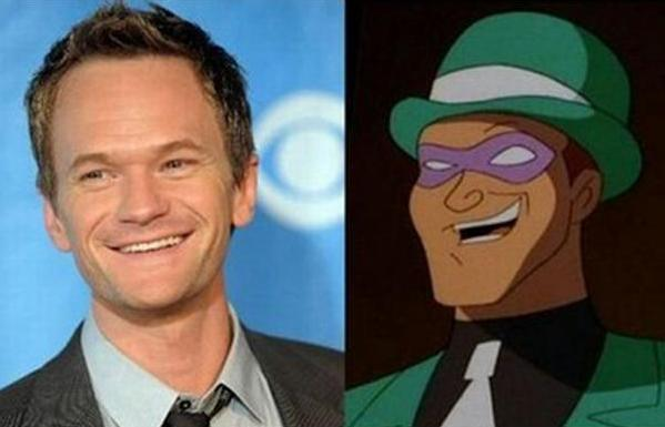 Neil Patrick Harris vs. El Acertijo (Batman)