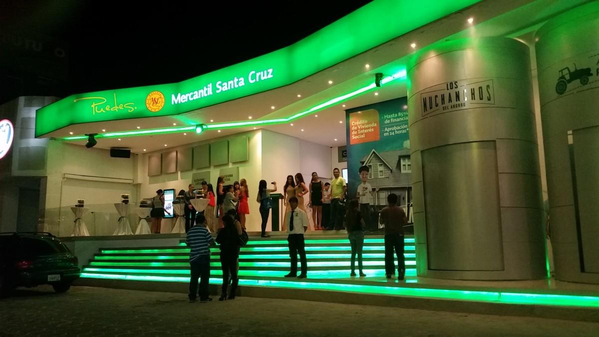 Stand Banco Mercantil
