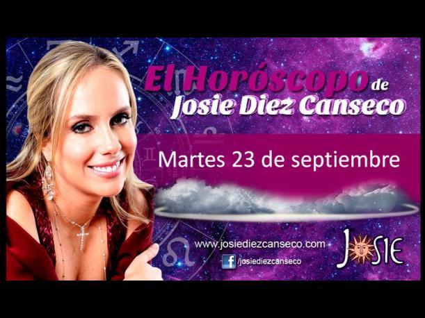 Josie Diez Canseco: Horóscopo del martes 23 de septiembre (FOTOS)