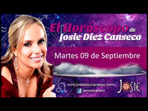 Josie Diez Canseco: Horóscopo del martes 9 de septiembre (VIDEO)