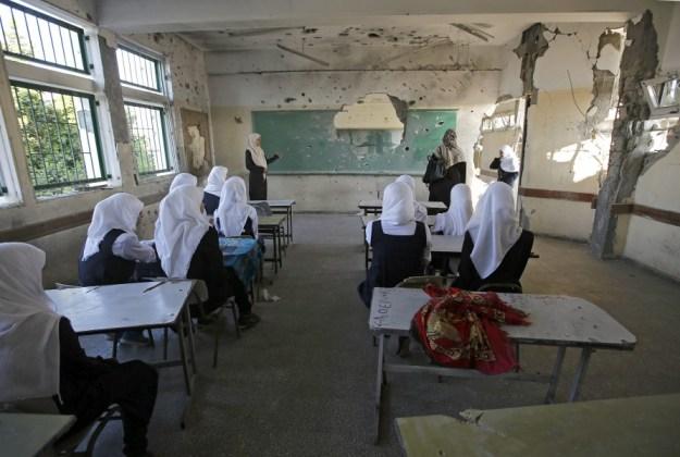 New school year starts late in Gaza