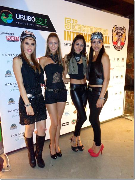 Dayana Montero, Estephanie Turner, Natalia Oyola y Raquel Velarde