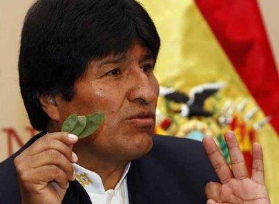 Evo Morales (Hoja de Coca) 2