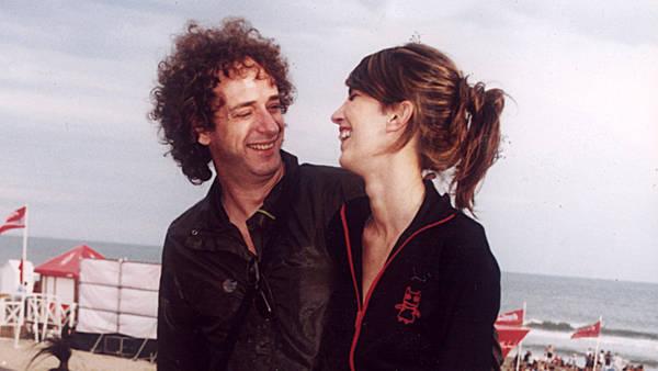 Gustavo Cerati junto a Deborah de Corral