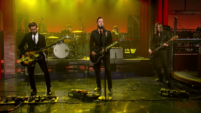 Interpol - David Letterman - All The Rage Back Home