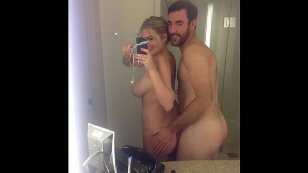 Kate Upton y novio Famosas de Hollywood Desnudas