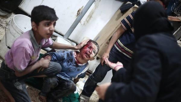 SIRIA. Los relatos aterradores de los ataques con gas lanzados desde helicópteros están recogidos en un informe de la Organización para la Prohibición de las Armas Químicas (AFP)
