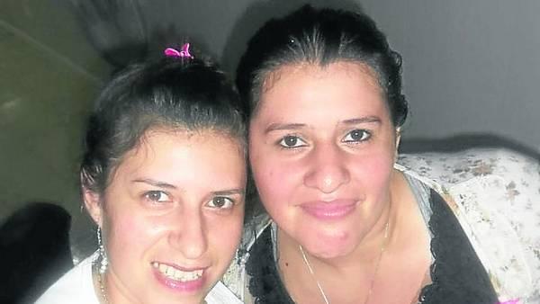 Víctimas. Olga Vallejo (izq.) resultó herida. Su hermana Gladis murió.