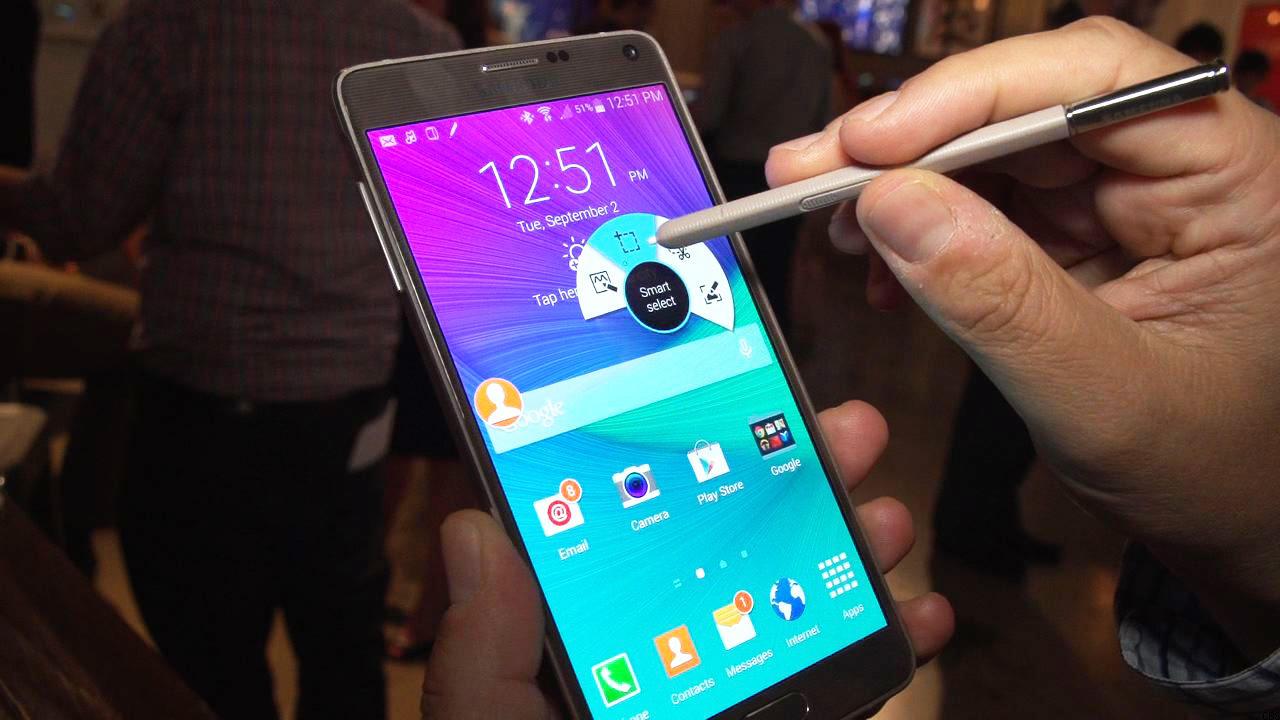 Samsung galaxy Note 4 novedades