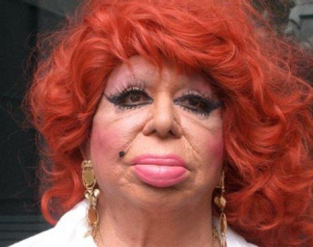 Maquillaje terrible