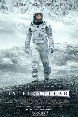 Cartel final de Interstellar