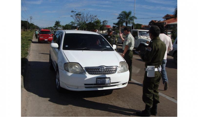 Los operativos de control estarán a cargo de la unidad de Tráfico y Transporte y Tránsito en diferentes puntos de la ciudad.