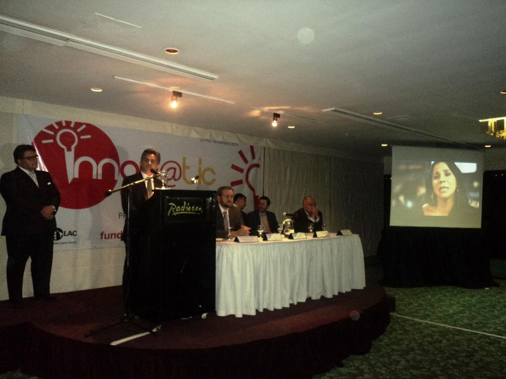 Pablo Guardia Presenta proyecto Tigo Money