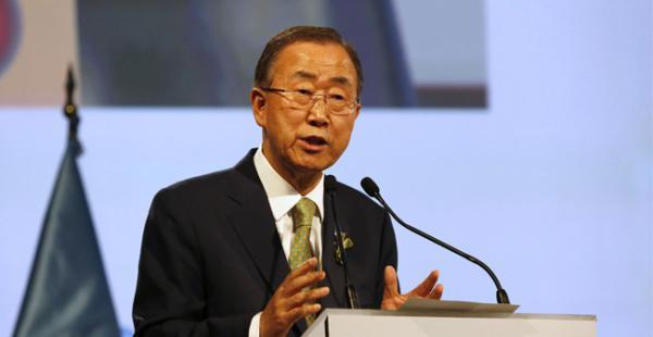 Ban Ki-moon recordó que la Asamblea general de la ONU aprobó nuevamente este año una resolución en favor del levantamiento del embargo estadounidense a Cuba