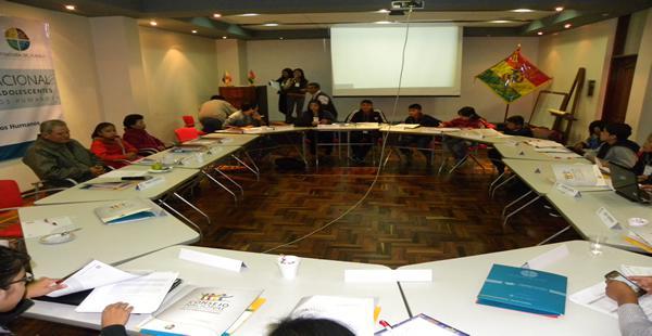 Una una veintena de menores participan del primer encuentro del Consejo Consultivo Nacional de Niñas, Niños y Adolescentes.