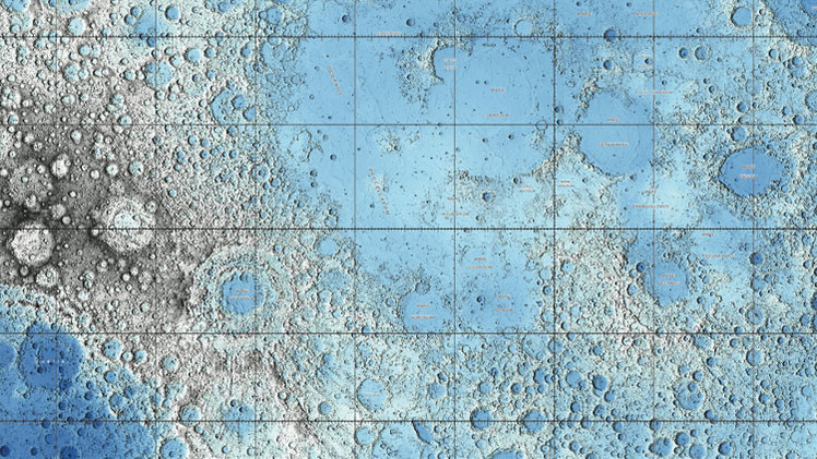 El mapa más impresionante de la Luna jamás publicado
