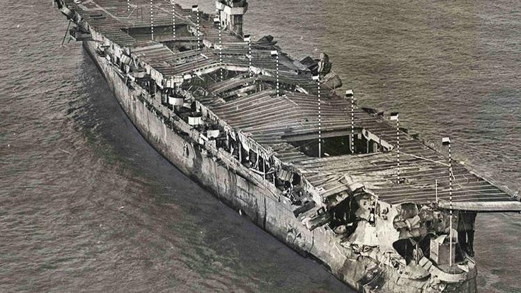 Portaaviones de la II Guerra Mundial hallado en California podría almacenar residuos nucleares
