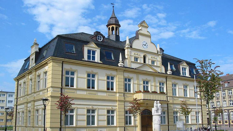 El ayuntamiento de Demmin