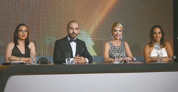 Jurado. Wara Cajías, Ubaldo Nállar, Verónica Larrieu y Rocío Rolón serán los evaluadores. El programa irá de lunes a viernes, a las 21:00