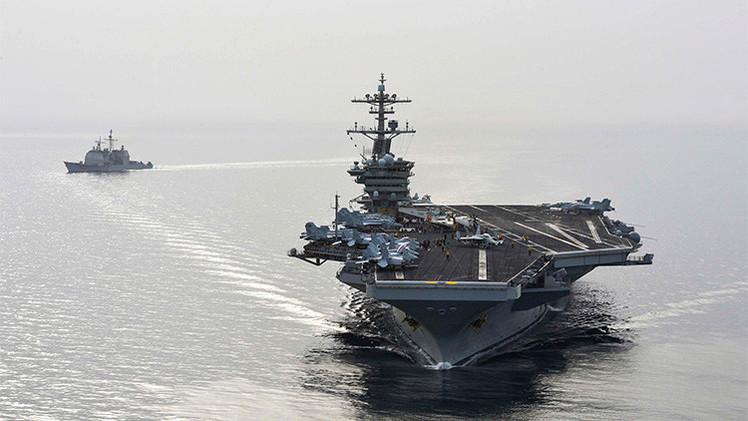 Barcos iraníes que se dirigían a Yemen dan media vuelta tras ser seguidos por buques de EE.UU.