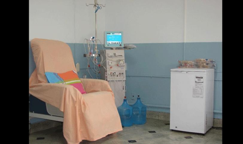 Entrega. El presidente anunció que entregará equipos de hemodiálisis a hospitales de provincia.