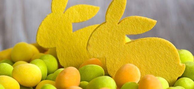 Huevos de Pascua en Semana Santa