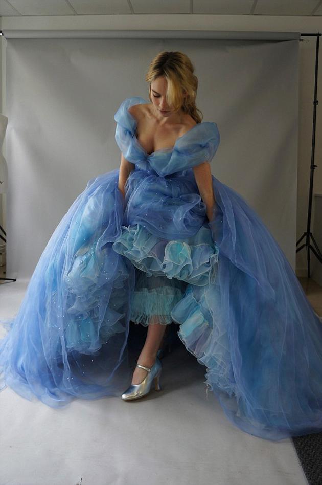 Vestido de hada madrina de cenicienta 2015
