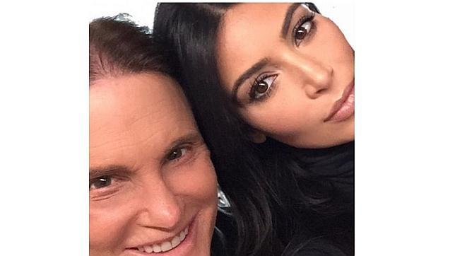 Kim Kardashian, sobre el cambio de sexo de Bruce Jenner: «Ha logrado encontrar su paz interior»