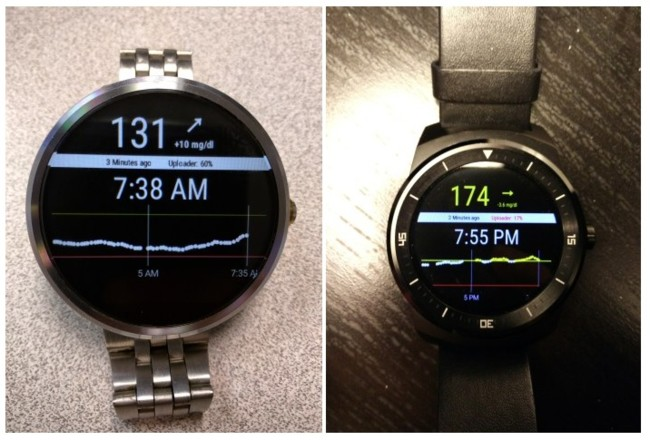 Android Wear Glucose 2